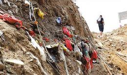 原本的耕地上面被覆蓋大量渣土和垃圾。京華時報記者 譚青 攝