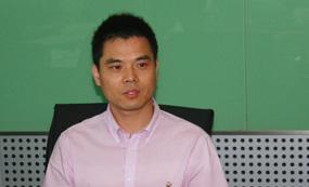 中国网教育频道营销总监曾瑞鑫