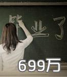 2013年高校毕业生699万