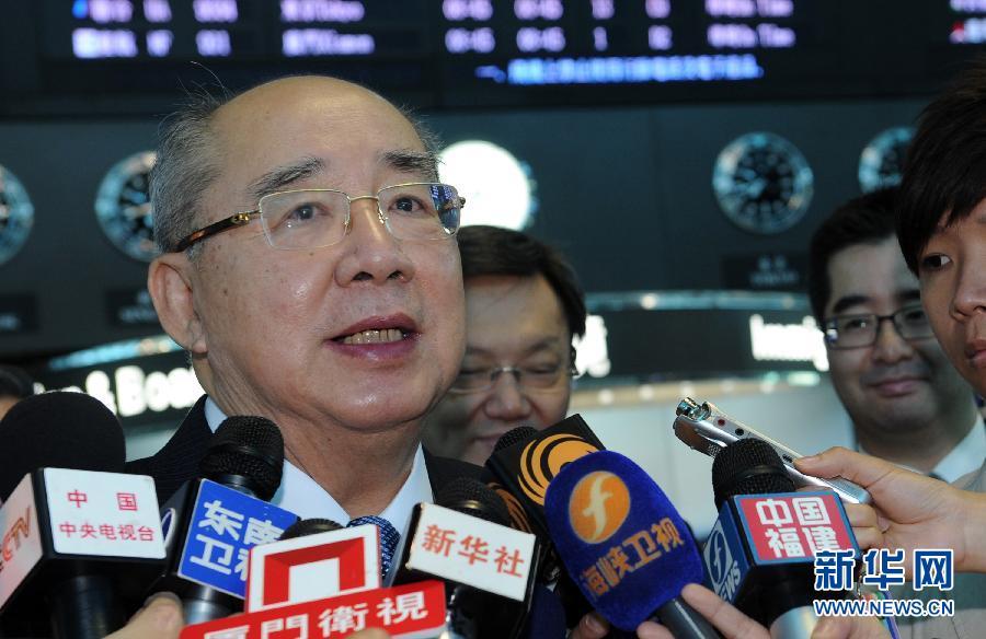 中国国民党荣誉主席吴伯雄率团访京