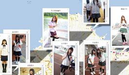 台灣女高中生制服地圖