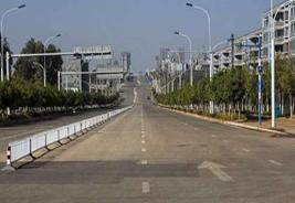 美记者拍中国'鬼城':满街只见动物不见人
