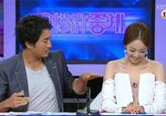 韩国女主播开胸上阵 引男搭档频频侧目引人遐想