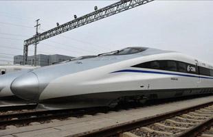 中國首列智慧化高速列車樣車下線(高清)
