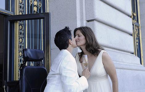 高清:最高法开绿灯 加州同性伴侣忙领证