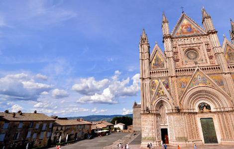"""走进意大利中部山地""""慢城""""奥尔维耶托"""