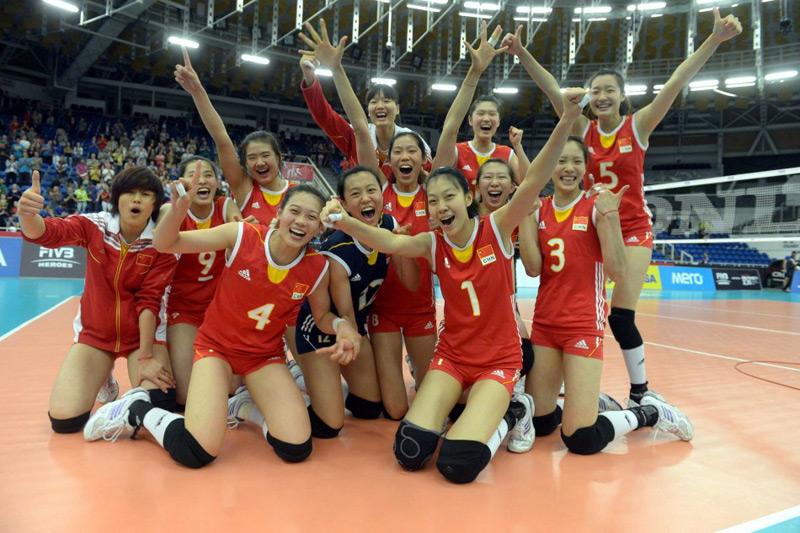 女排世青賽中國3-0日本 18年後再奪冠