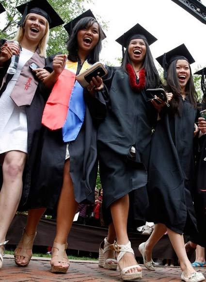 青春记忆:国外学生的疯狂毕业季