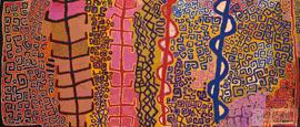 《土地-身体》再次巡展 展澳土著多元本土文化[组图]