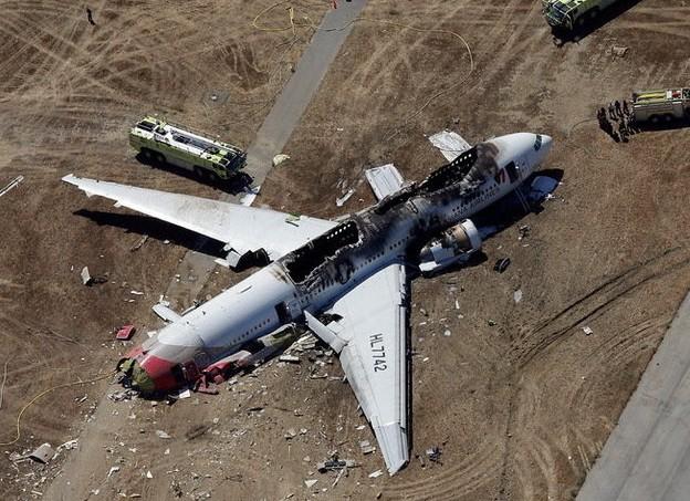 韩亚波音客机失事