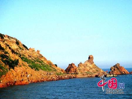 望海寺海滨有一座明代建筑----望海寺庙.据乡志记载,清乾隆...