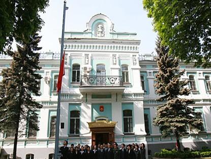 中国驻菲律宾大使馆暂停部分业务_ 视频中国