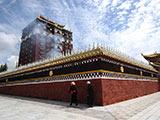 藏传佛教名刹:米拉日巴佛阁[组图]