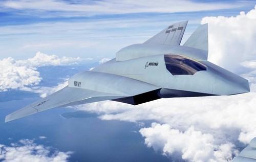 美波音公司展示第六代战机模型