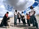 藏北高原无人区的巴桑一家[组图]