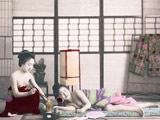 揭秘19世纪末的日本妓院