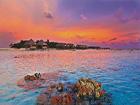 地球 碎珊瑚 马尔代夫群岛 上岛 岛屿