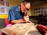 【图片故事】木版年画的坚守者