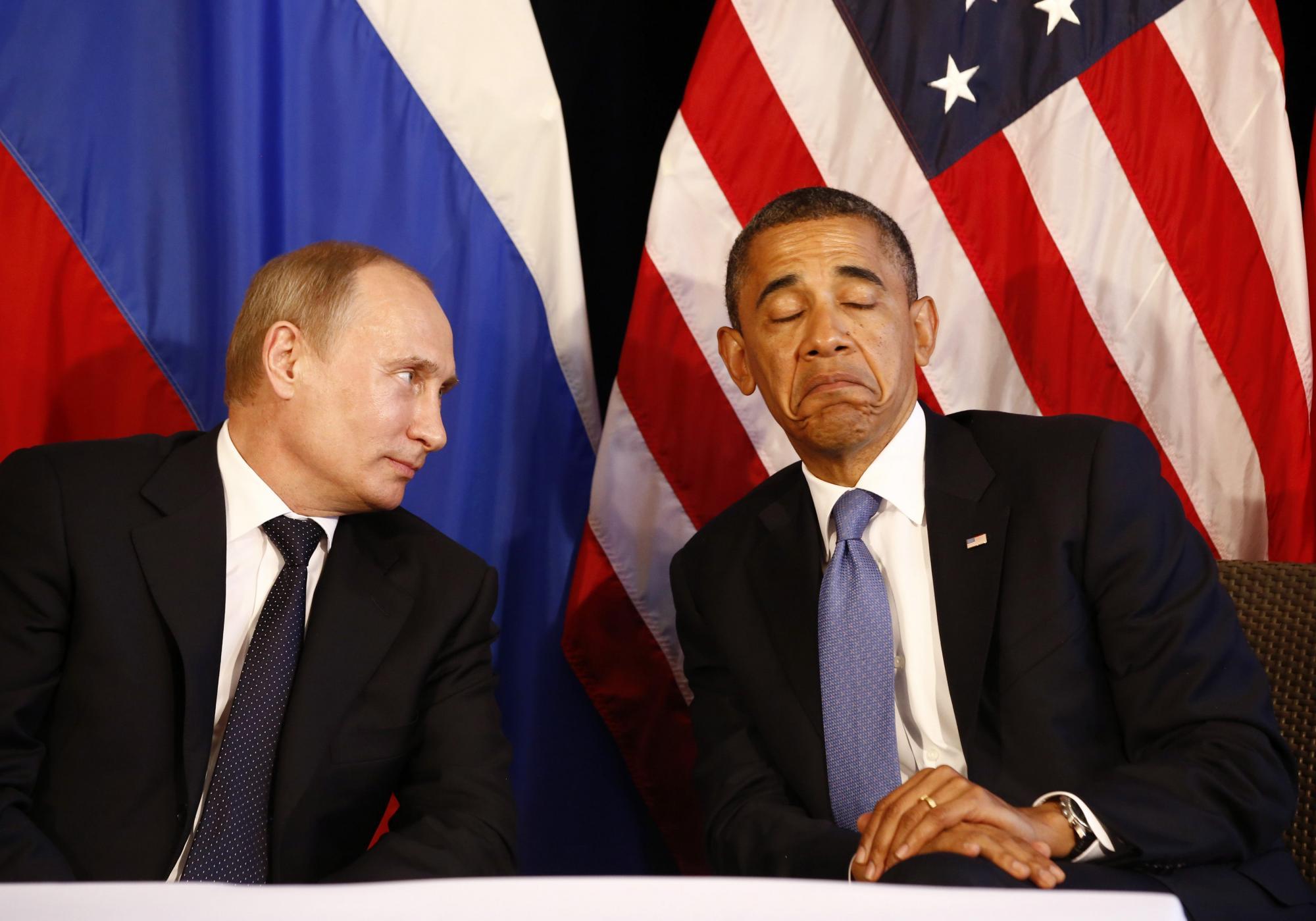 奥巴马取消与普京既定会晤 实为无奈之举_ 视