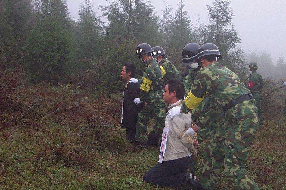盘点新中国建国后死刑犯执行枪决的行刑前瞬间