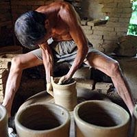 【图片故事】陶器作坊六旬老人的最后坚守