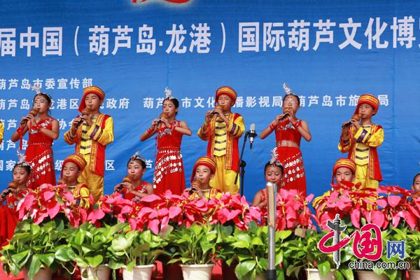 葫芦丝演奏---婚誓、月光下的凤尾竹-第四届中国国际葫芦文化博览会开