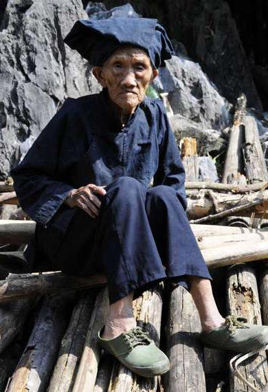 广西巴马瑶族自治罗美珍