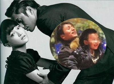 周迅 陈坤/周迅与陈坤的关系密切路人皆知,以至于外界传言陈坤9岁儿子的...