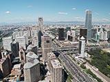 北京商務中心區 現代化城市風光[組圖]