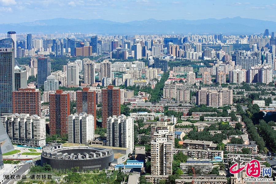 北京朝阳区北京电视台周边建筑风光。 中国网图片库 王琼/摄