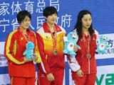 山西曹玥后程发力取女子400米自由泳金牌