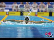 全运会游泳项目图片精选 惊涛骇浪。中国网记者 董宁摄影
