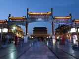 北京最美街道 前门大街夜景[组图]