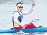 女子500米单人皮艇湖南名将周玉以显著优势夺冠
