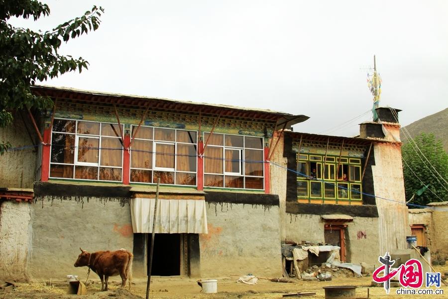 图为南木林县一户藏族民居。 中国网记者 宗超 摄影