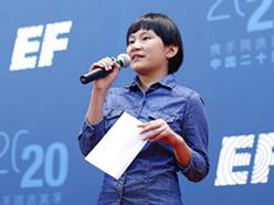 英孚教育14岁学员Rosie的中国梦