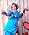Hold住姐cosplay动漫人物(图)