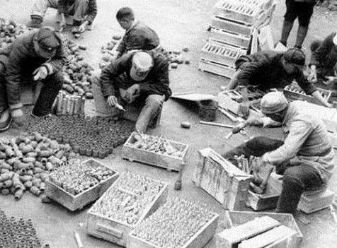 历史组图 抗战时期八路军用这些武器解放全中国