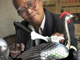 【非遗】84岁的锡雕大师