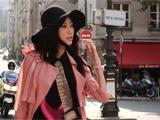 高清:李斯羽携手高圆圆 巴黎街头街拍彰显浪漫