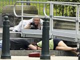 美国女子驾车冲击白宫警戒区被击毙[组图]