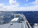 中国海军导弹驱逐舰青岛舰抵达悉尼港[组图]