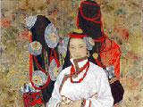"""""""和美西藏""""画展:眺望雪域高原的窗口[组图]"""
