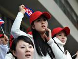 东亚运动会 花絮:朝鲜啦啦队[组图]