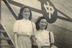 上世纪40年代的中国空姐