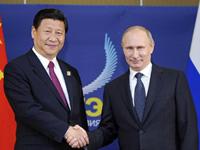 习近平会见俄罗斯总统普京 [组图]