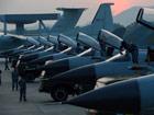中国空军大演习:歼10与预警机群集结作战[组图]