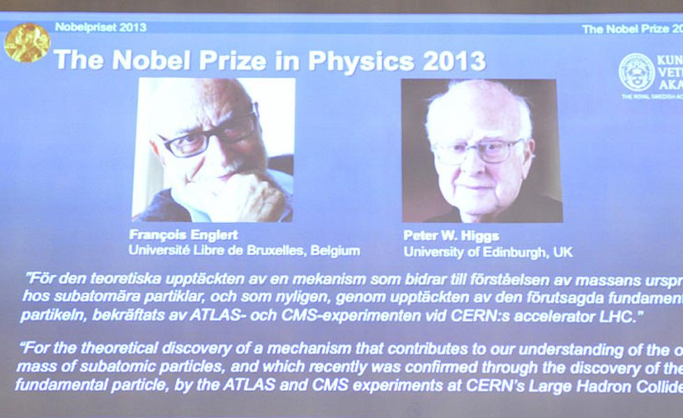 2013诺贝尔物理学奖揭晓