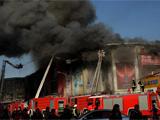 北京市石景山商场发生火灾 无人员伤亡