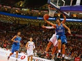 欧洲篮球首次中国之旅:对战北京男篮[组图]